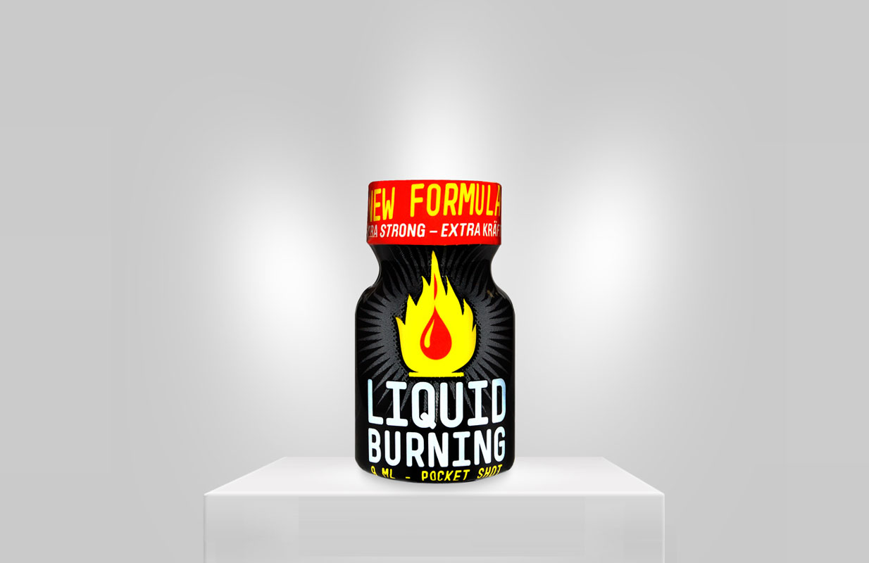Poppers Liquid Burning